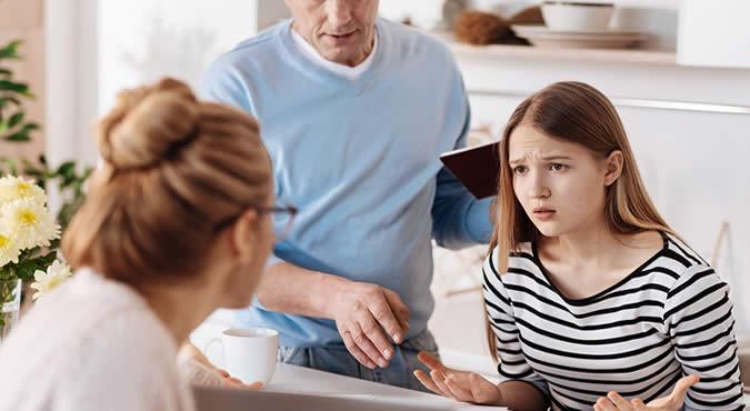 критика родителей